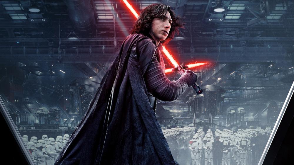 Star Wars Os Últimos Jedi Kylo Ren Adam Driver blockbuster politizado