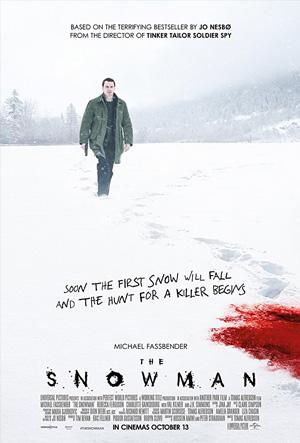 Filmes decepcionantes 2017 piores do ano O Boneco de Neve The Snowman