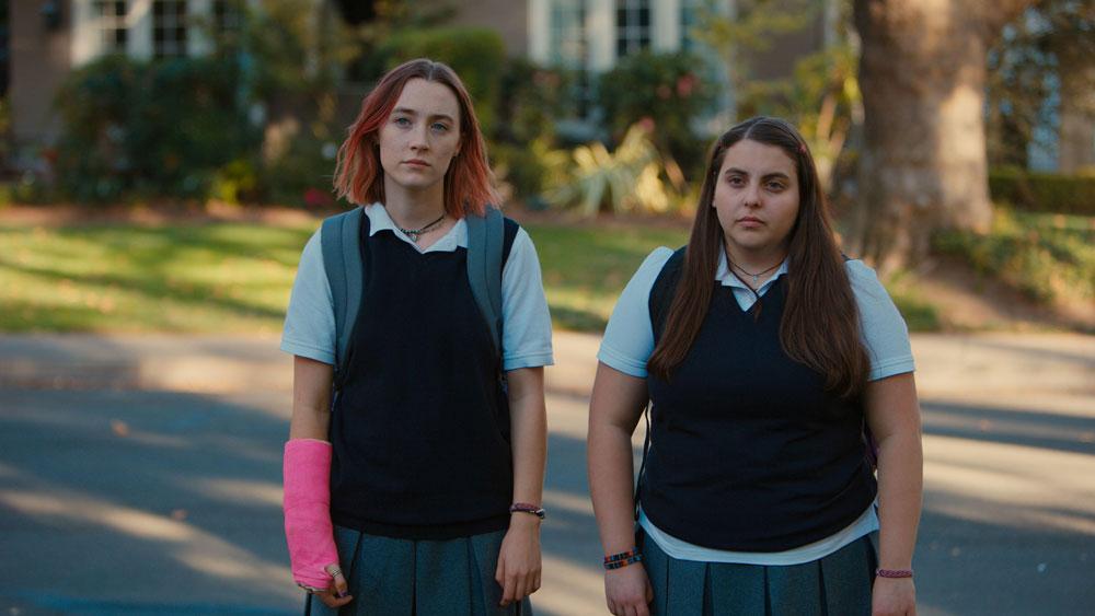 Lady Bird A Hora de Voar Greta Gerwig Saoirse Ronan Laurie Metcalf Oscar 2018 melhor filme melhor atriz melhor atriz coadjuvante