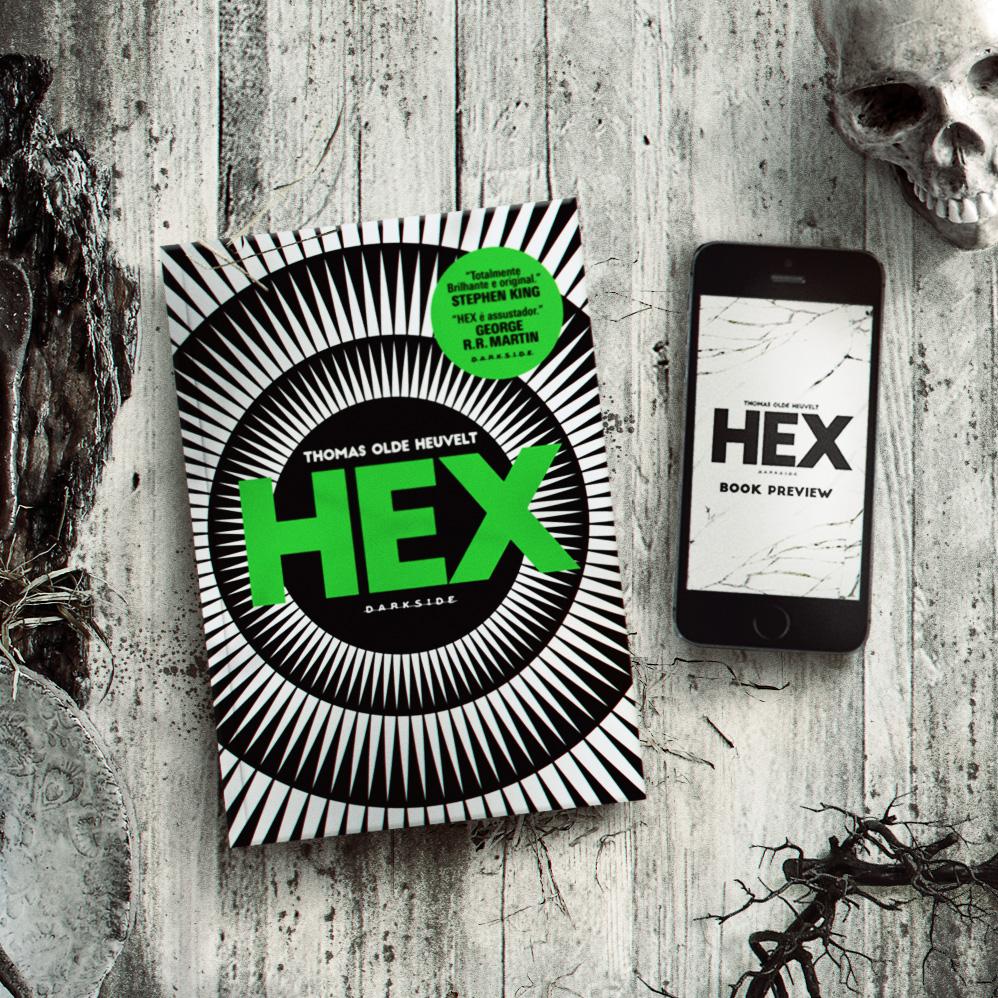 HEX Thomas Olde Heuvelt DarkSide Books