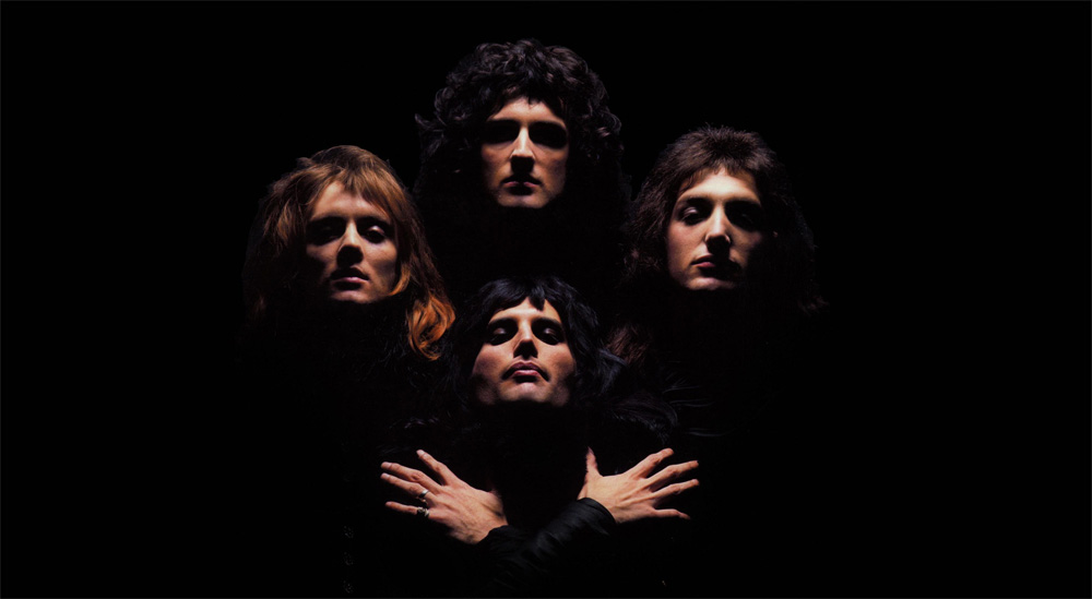 Queen Freddie Mercury Brian May Roger Taylor John Deacon