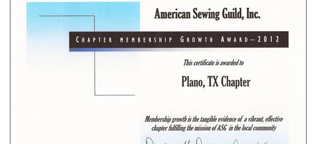Membership Growth Award