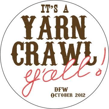 First ever DFW Yarn Crawl