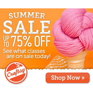 Craftsy Summer Sale!