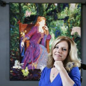 From craft to art: Richardson quilter brings home the gold
