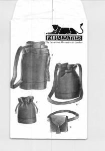 fabu-leather bag