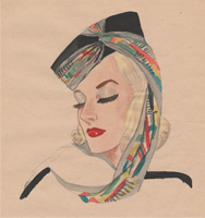 Fashion Design Sketches by Nancy B. Hamon