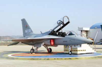 Iraq T-50IQ First footage of Iraqi Air Force T-50IQ 1