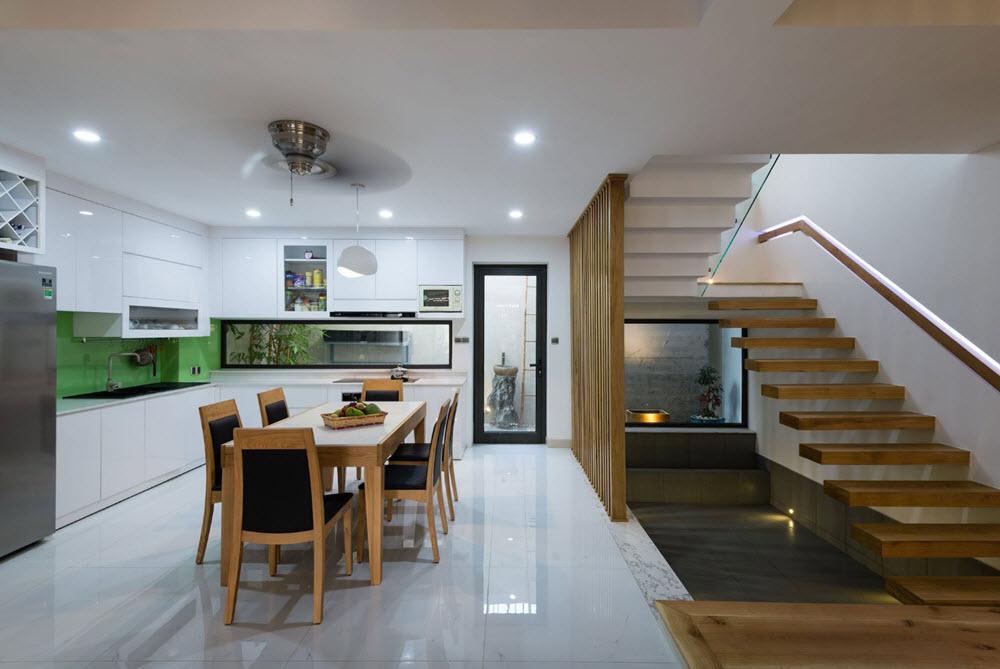 Diseño de casa moderna construida en terreno de 112 metros ... on Interiores De Casas Modernas  id=18642