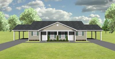 Duplex Plan J748 CP PlanSource Inc