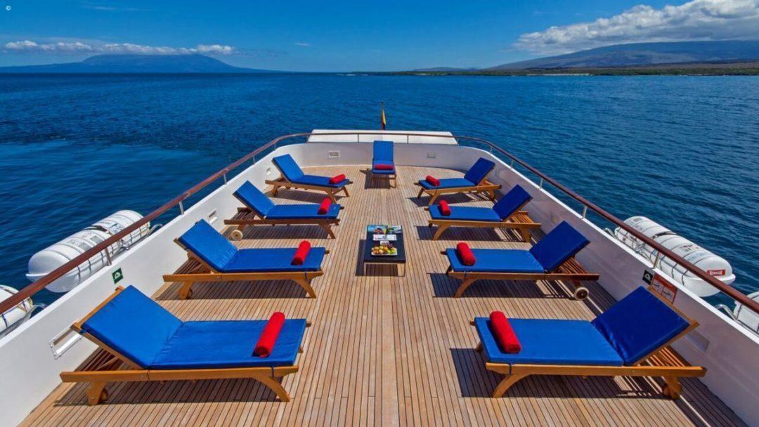 Galapagos Boat Sun Deck
