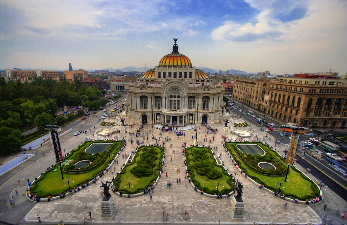 Mexico City Bellas Artes Museum