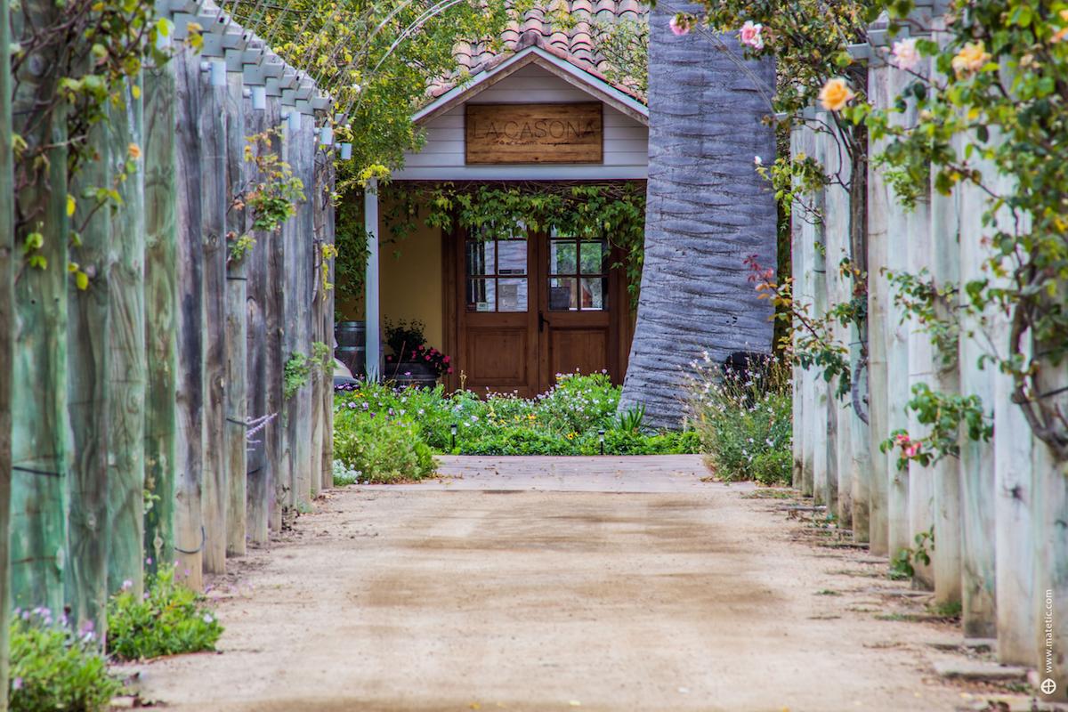La Casona Matetic, Wine Region, Chile - Entrance
