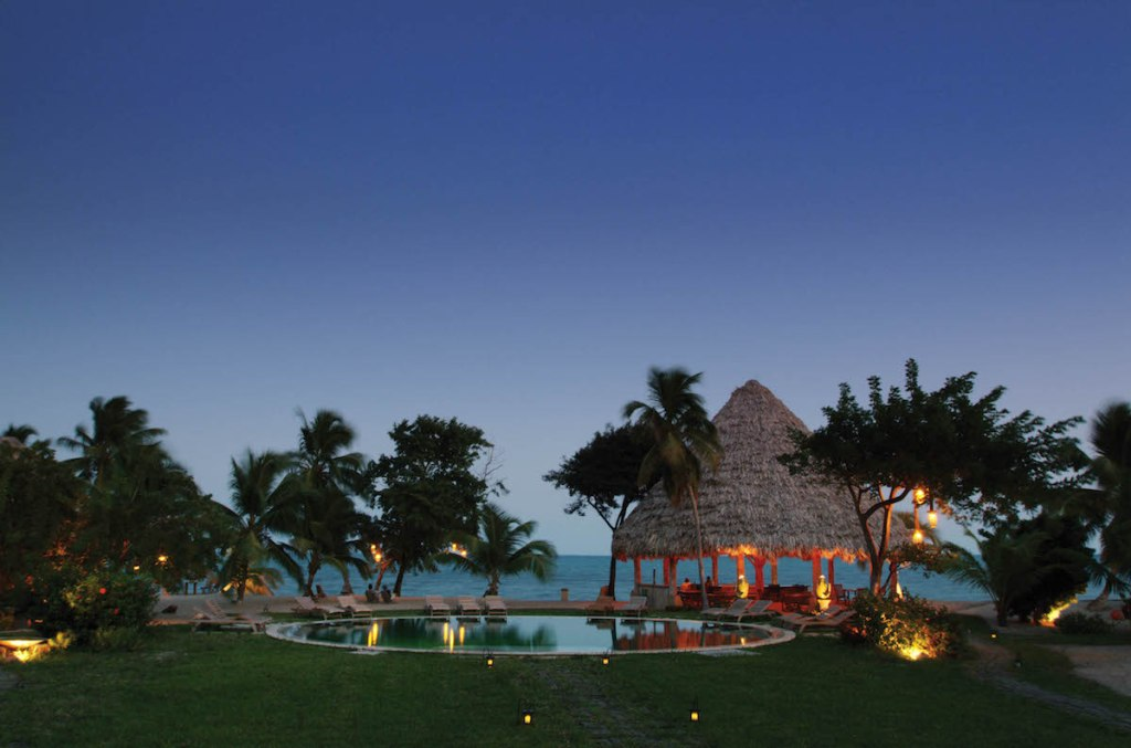 Turtle Inn, Placencia, Belize - Pool View