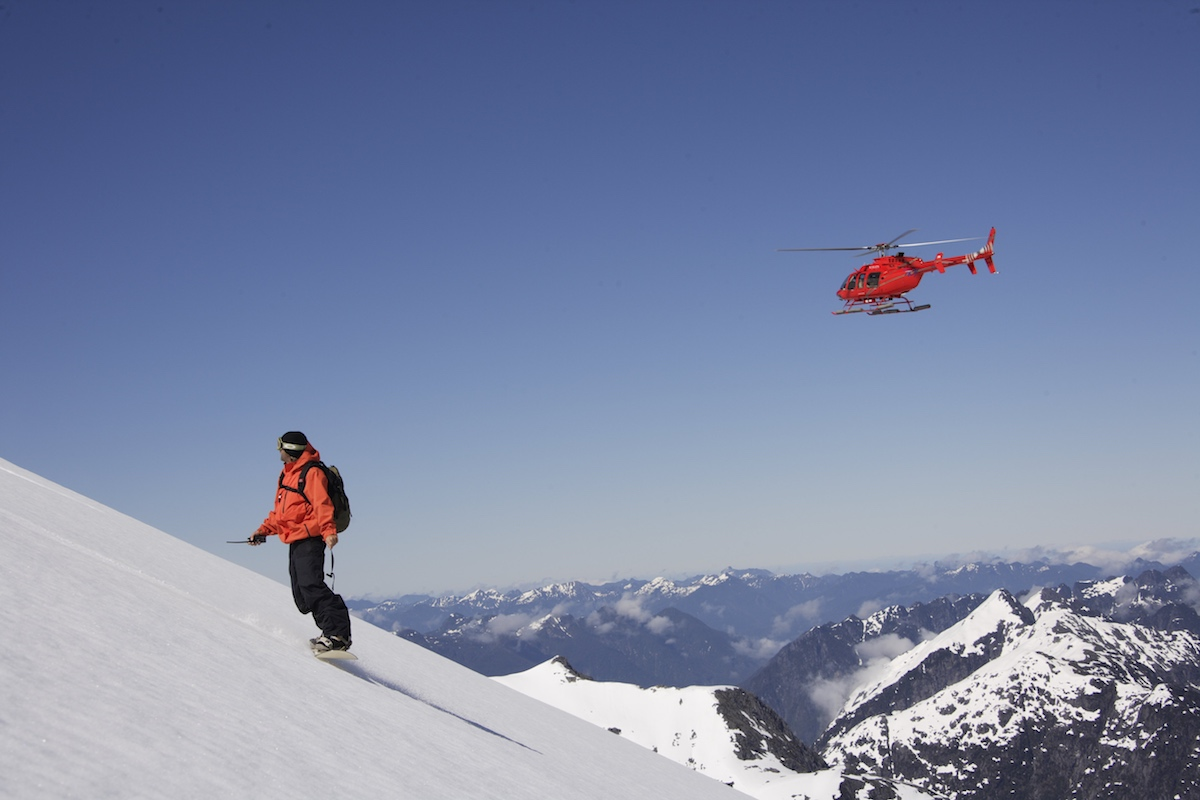 Cruising the Chilean Fjords - Heli-Skiing
