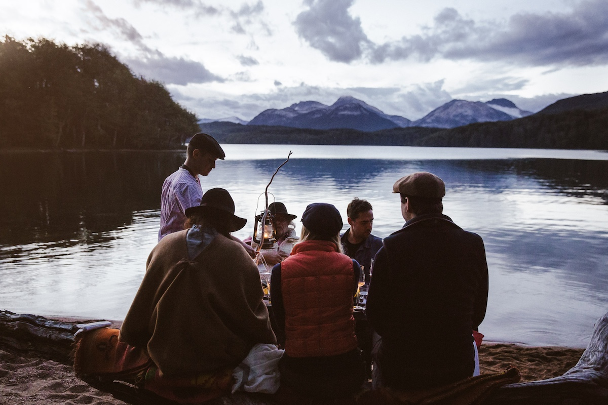 Francis Mallmann - Patagonia Island - Lunch Outdoors