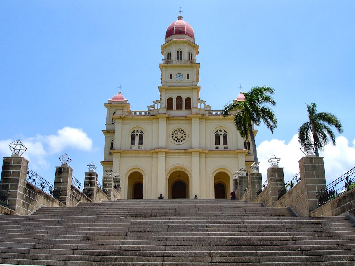 Santiago de Cuba - Cathedral   Plan South America