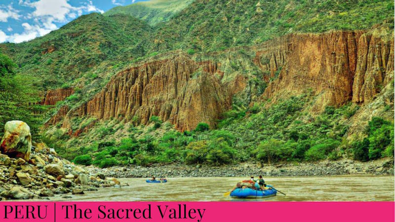 Family Inspired Adventures - Sacred Valley, Peru - Rafting
