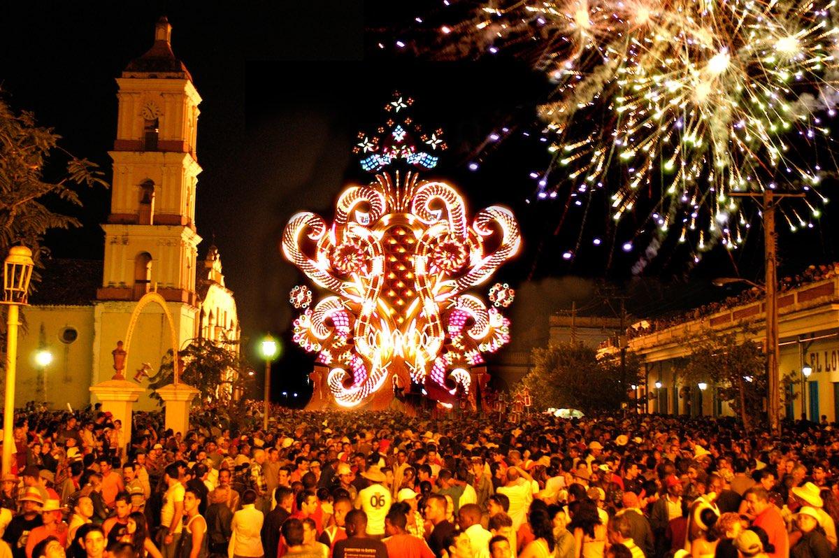 Parrandas de Remedio, Cuba - Fireworks