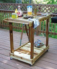 Cart Plans 90 Free Plans For Kitchen Garage Utility