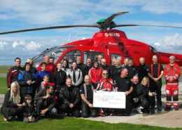 Helimed rideout