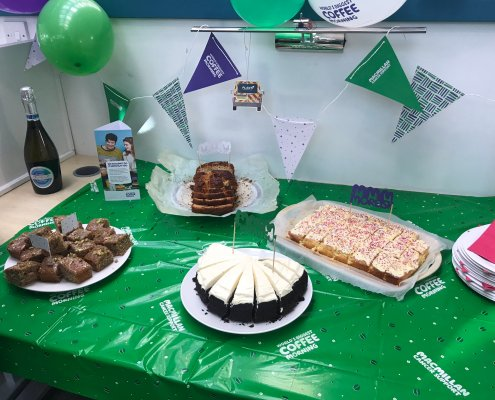 Plant-i Raise money for Macmillan Coffee Morning