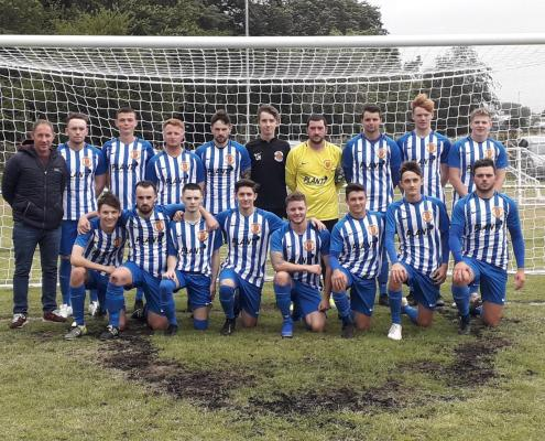 Plant-i Sponsor Machynlleth 1st Football Team