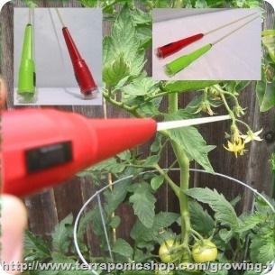 trilapparaat tomaten