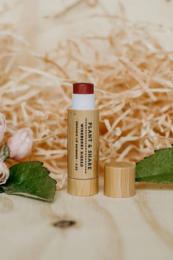 wineberry kissed lip shimmer