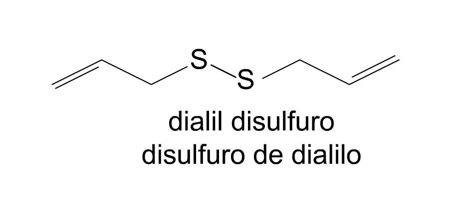 Resultado de imagen para Dialil disulfuro