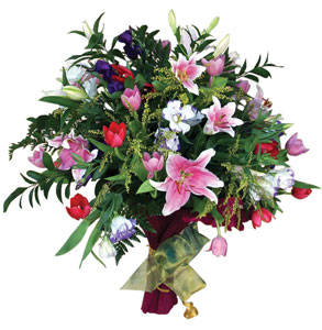 La tradición de regalar flores