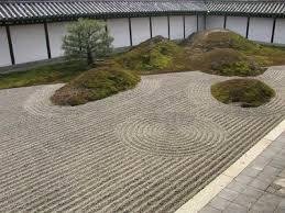 Un jardín zen en casa