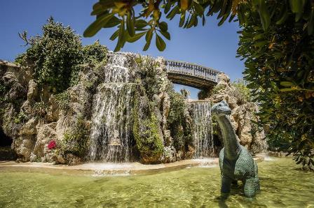 El parque Genovés de Cádiz