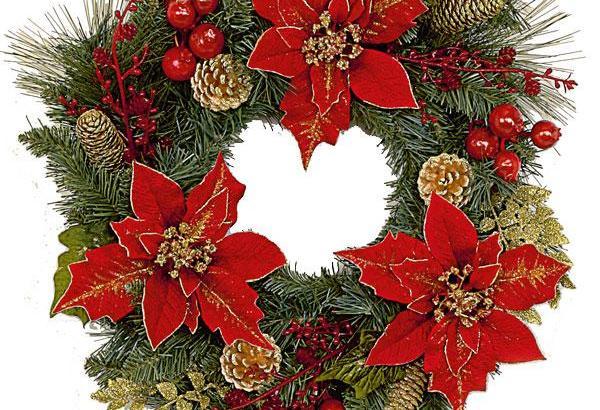Plantas para guirnaldas de Navidad