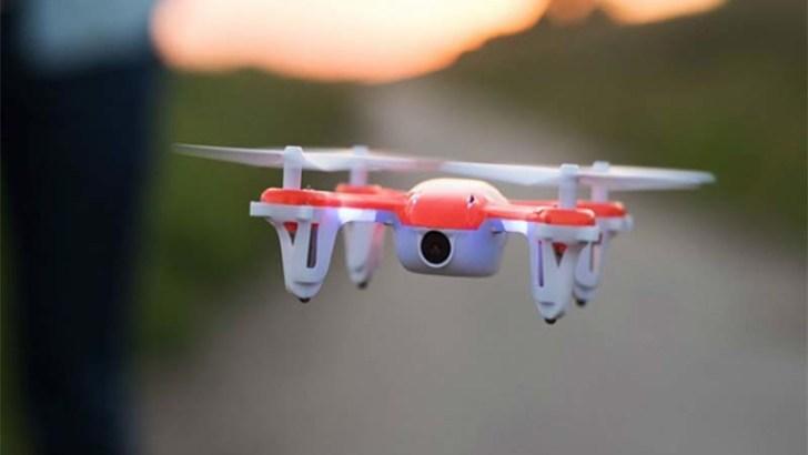 Drones para mejorar la polinización