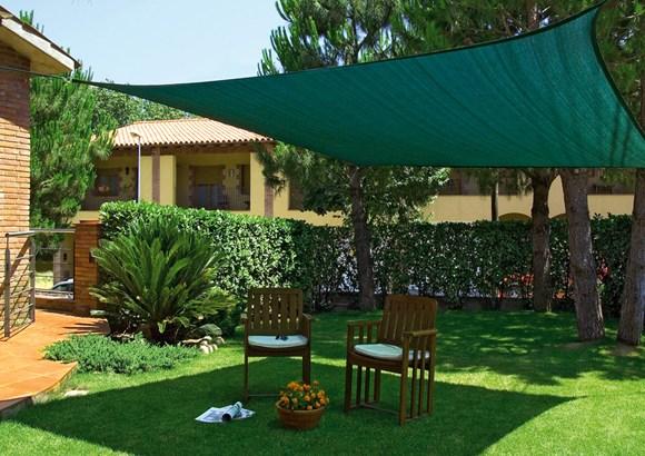 Proteger las plantas del calor asfixiante. Jardines.