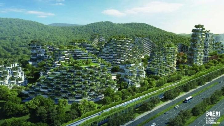 Luc Schuiten y las ciudades hechas con plantas