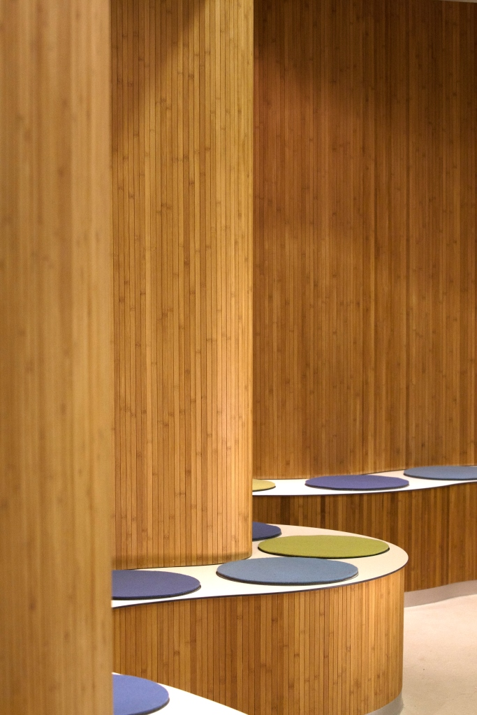 Flexbamboo is a flexible bamboo panel product