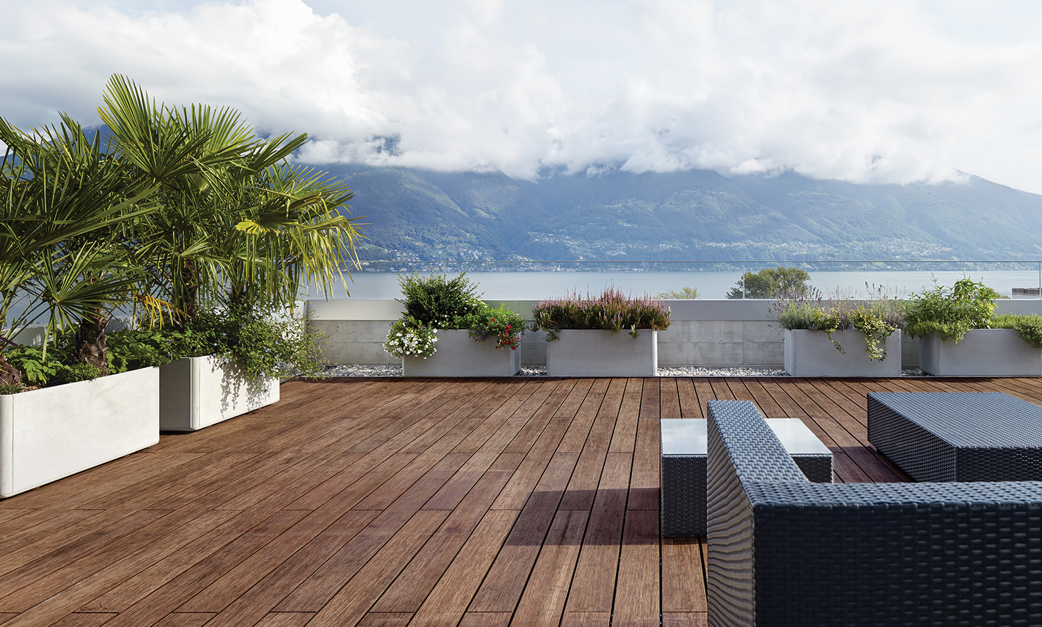 timber decking - bamboo x-treme decking