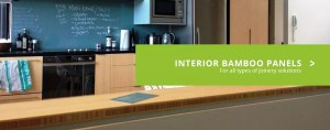 Bamboo joinery in a New Zealand kitchen