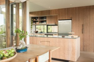 bamboo ply panels - kitchen joinery