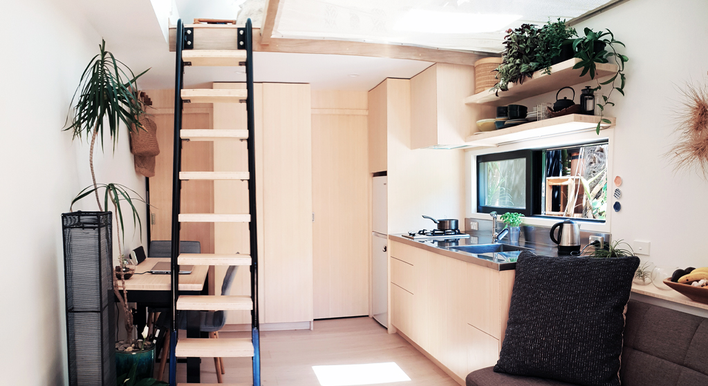 bamboo used in tiny home nz