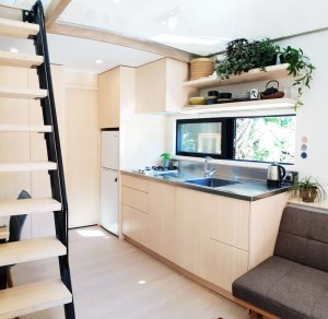 tiny house using bamboo in ponsonby