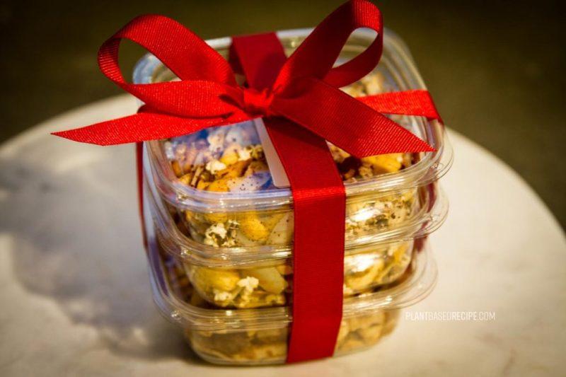 Sending snacks to a blogging buddy.