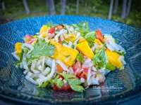 This mango vegan ceviche is healthy, whole foods, and full of flavor.