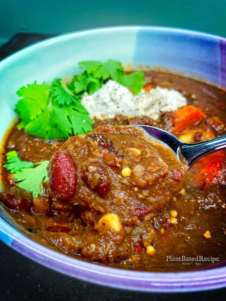 Cheap vegan chili recipe