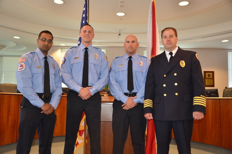 PHOTO GALLERY: Plant City Fire Rescue Swearing-in Ceremony
