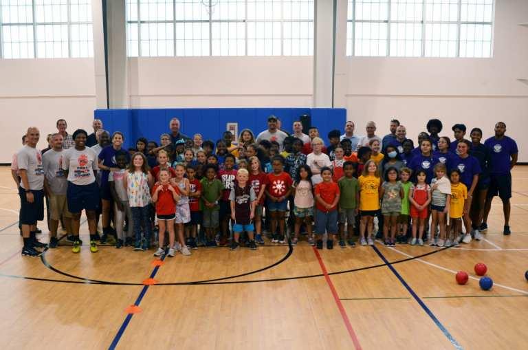 cops vs kids dodgeball parks and rec