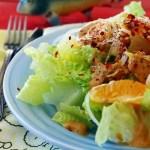 Orange Banana Breakfast Salad Vegan Plant-Based Recipe Planted365.com planted 365