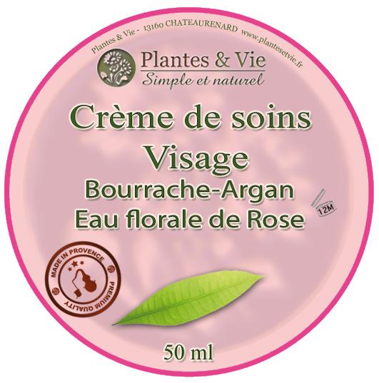 Crème de Soin Bourrache|Argan